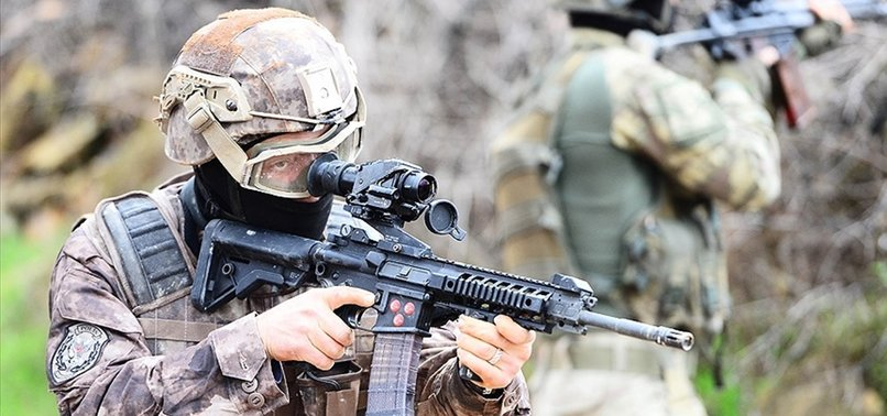 TURKISH SECURITY FORCES 'NEUTRALIZE' 5 TERRORISTS