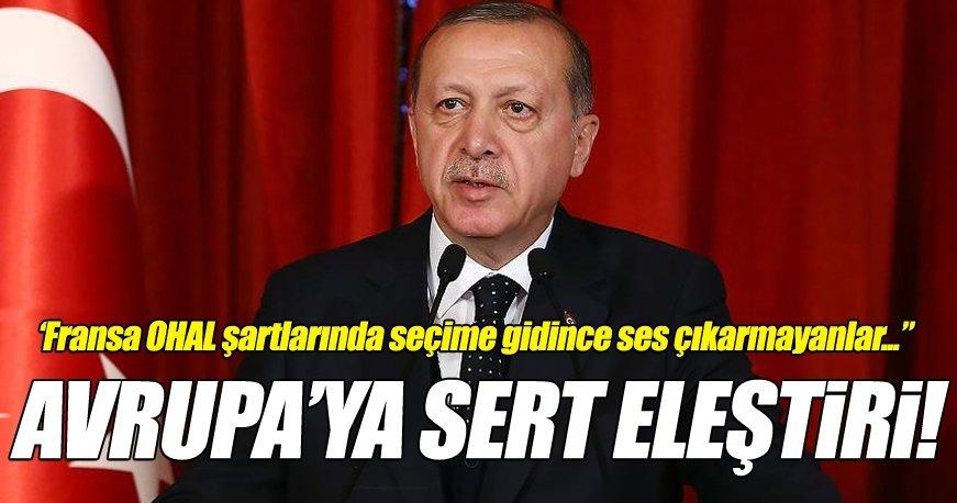 Erdoğan'dan AKPM'nin 'siyasi denetim' kararına sert tepki