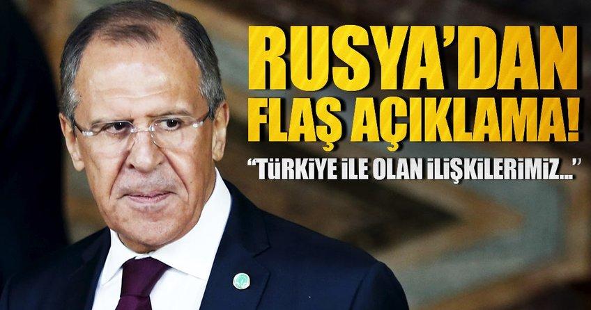 """Lavrov: """"Türkiye ile ilişkilerimiz daha özel"""""""