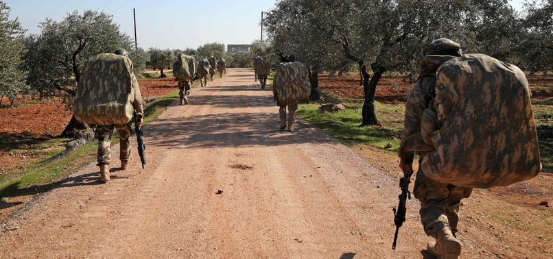 2 TURKISH SOLDIERS MARTYRED IN REGIME AIRSTRIKE IN SYRIAS IDLIB REGION