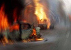 Antalya'da patlama meydana geldi