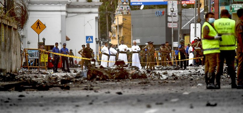 DAESH CLAIMS RESPONSIBILITY FOR SRI LANKA BOMBINGS