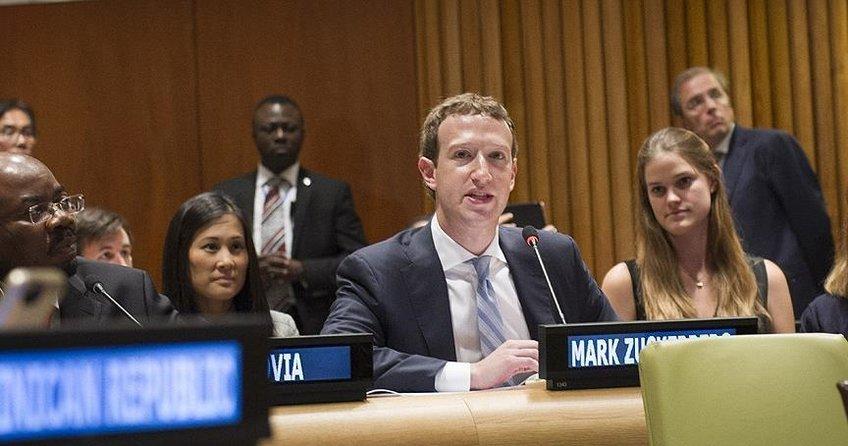 Zuckerberg ABD Senatosunda ifade verdi
