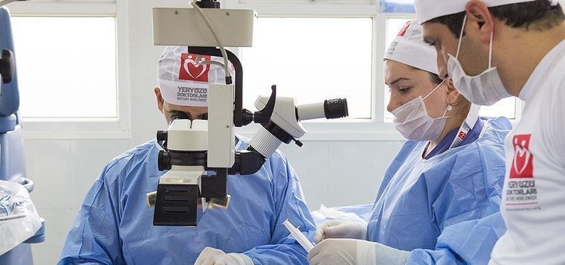 TURKISH AID GROUP PERFORMS 5,441 CATARACT SURGERIES