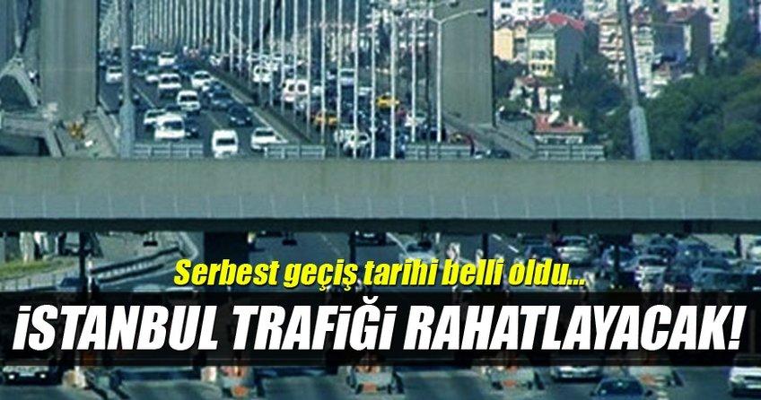 Bakan Ahmet Arslan 15 Temmuz Şehitler Köprüsü'nden 'serbest geçiş' tarihini açıkladı