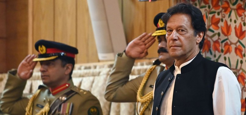 PAKISTANI PM IMRAN KHAN RULES OUT TALKS WITH INDIA ON DISPUTED KASHMIR