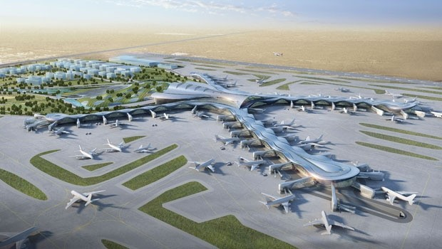 The new terminal of the Abu Dhabi International Airport is being constructed by Turkeyu2019s TAV. Turkish companies eye more construction projects in the Gulf.