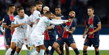 Marseille end long PSG curse as Neymar among five sent off