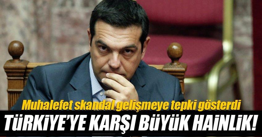 Yunanistan'dan Türkiye'ye büyük hainlik!