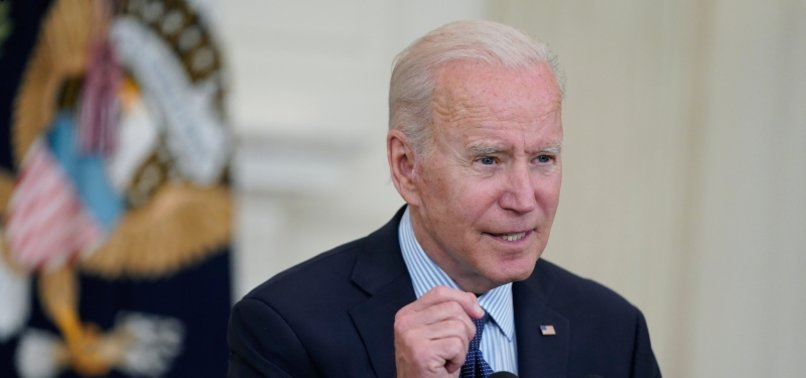 BIDEN SEEKS TO HAVE 70% OF US RECEIVE AT LEAST 1 VACCINE DOSE BY JULY 4