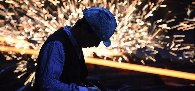 TURKEYS INDUSTRIAL OUTPUT GOES UP IN APRIL