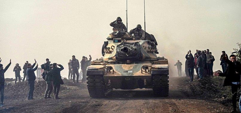 NEARLY 2,300 TERRORISTS NEUTRALIZED IN TURKEYS AFRIN OPERATION
