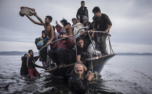 Refugees using sea routes to reach Europe at 2-year low