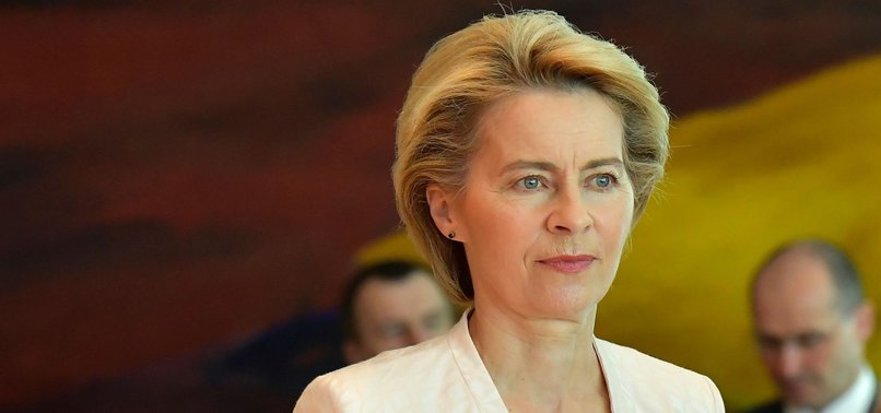 VON DER LEYEN TO STEP DOWN AS GERMAN DEFENSE MINISTER TO PURSUE TOP JOB IN EU