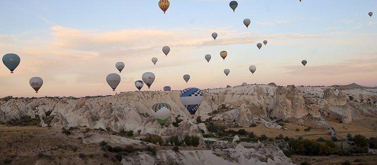 Kapadokya'yı ekimde 175 bin 612 turist gezdi