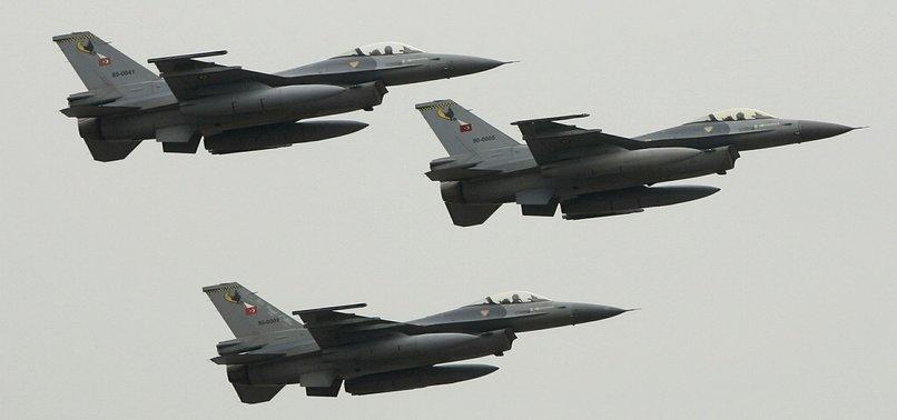 TURKISH JETS 'NEUTRALIZE' 34 PKK TERRORISTS IN N. IRAQ