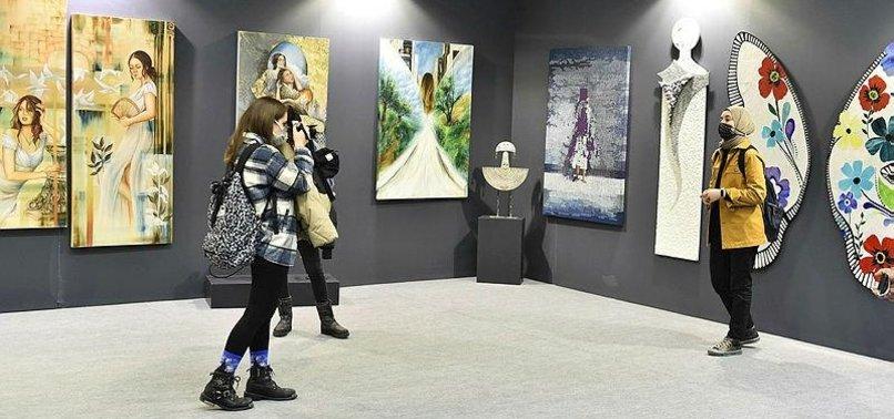 ART FAIR IN TURKEY UNDER COVID-19 RESTRICTIONS DRAWS INTEREST