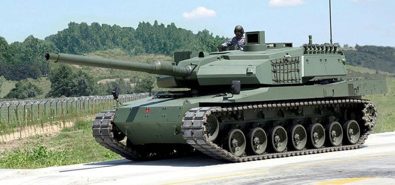 TURKEYS INDIGENOUS TANK ALTAY TO BE READY IN 2 YEARS