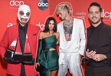2020 Amerikan Müzik Ödülleri kırmızı halı