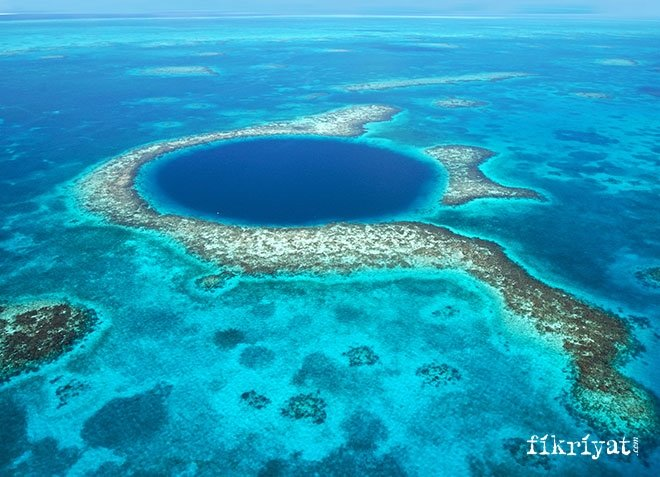 Büyük Mavi Çukur, Belize