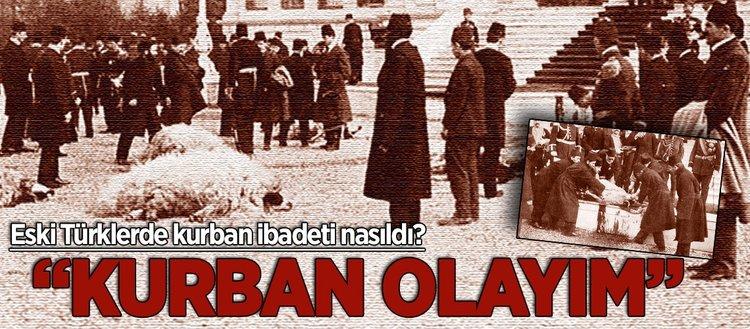 Eski Türklerde kurban ibadeti