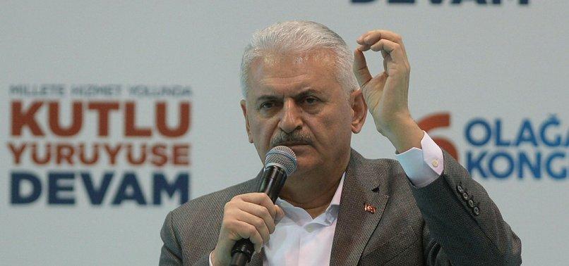 TURKISH PM YILDIRIM STRESSES 'LASTING PEACE' IN SYRIA