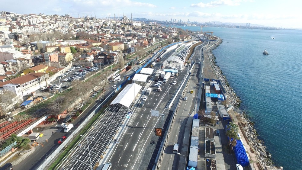 Istanbul's Eurasia Tunnel, which is 14.5 kilometers long, opens to public use today.