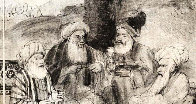Mevlâna ve en yakın dostları