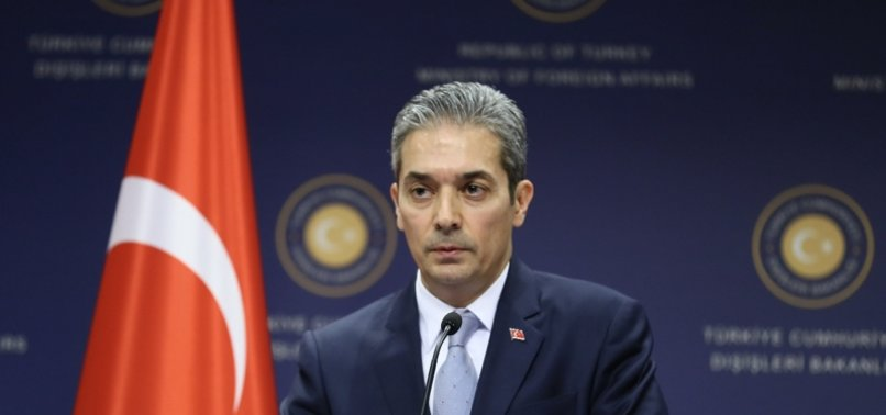 TURKEY CALLS GREECE FOR DIALOGUE ON EAST MED