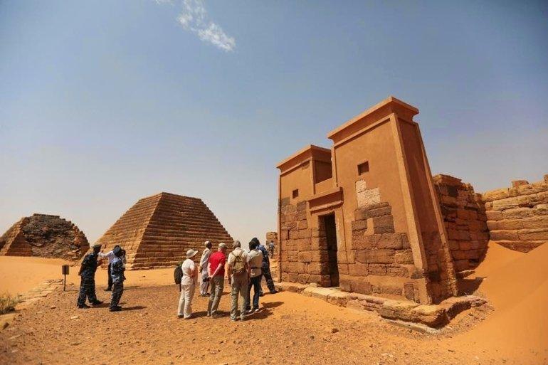 SUDAN'IN 'SAKLI HAZİNESİ' PİRAMİTLER