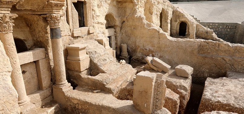 2,000-YEAR-OLD ROCK TOMBS TO WELCOME VISITORS IN SOUTHEAST TURKEY