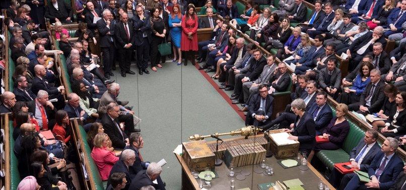 BRITISH LAWMAKERS VOTE TO DELAY BREXIT PAST MARCH 29