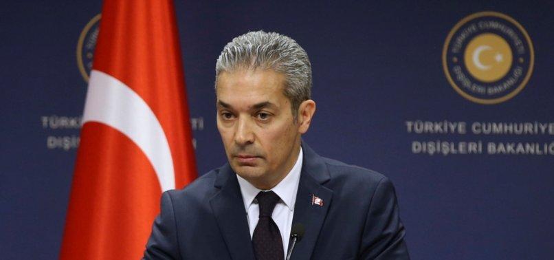 TURKEY CONDEMNS RACIST THREAT MESSAGE IN GREECE