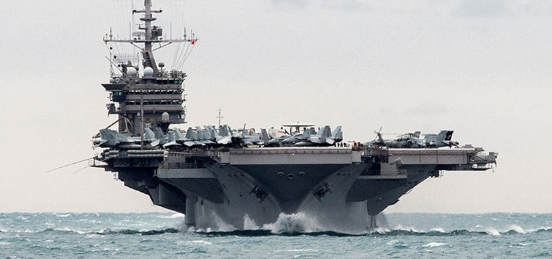US SENDS AIRCRAFT CARRIER, BOMBERS TO KOREA AHEAD OF OLYMPICS