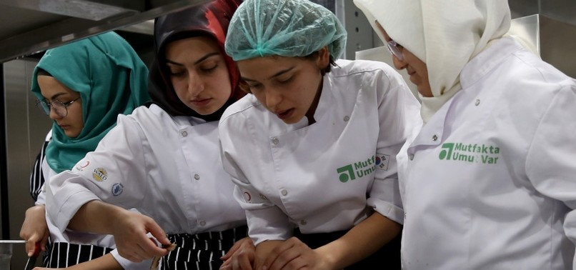 THERE IS HOPE IN THE KITCHEN TO FIND JOBS FOR SYRIANS, TURKS