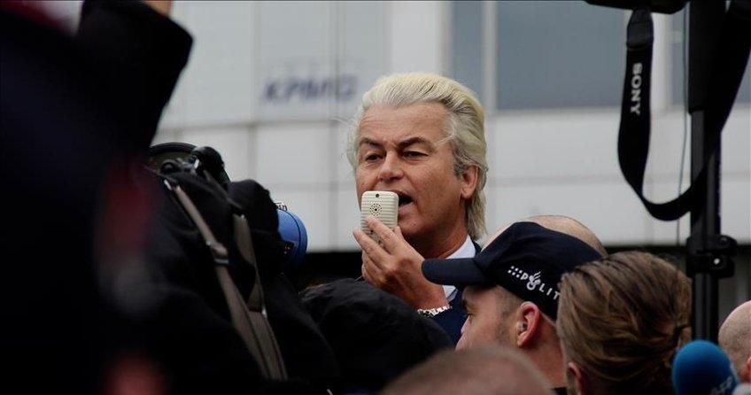 Hollandada ırkçı lider Wildersten yeni tahrik