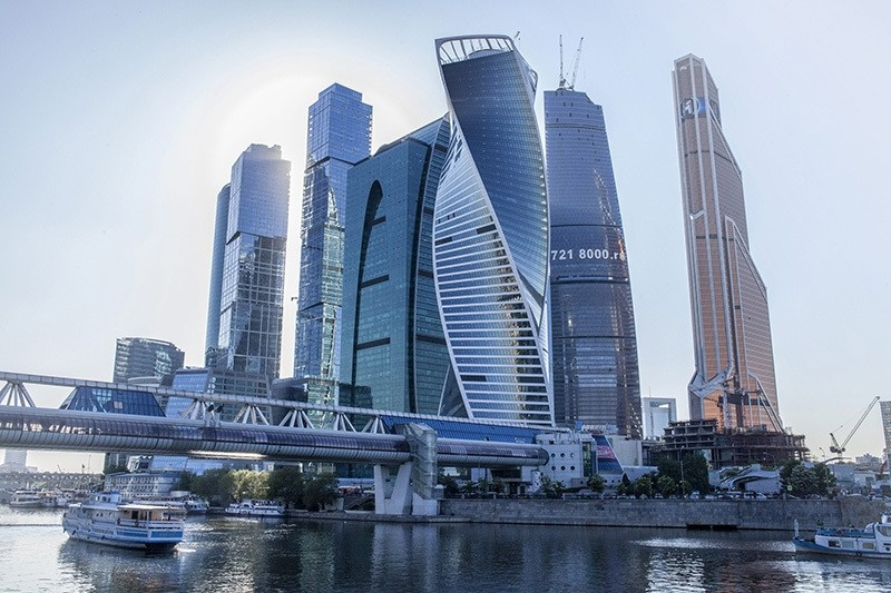The Evolution Tower in Moscow, Russia is among the landmark projects carried out by Ru00f6nesans. (File Photo)