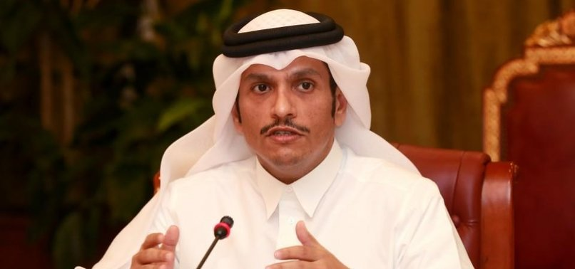 FM AL-THANI: ABRAHAM ACCORDS NOT TO RESOLVE MIDEAST PEACE CRISIS
