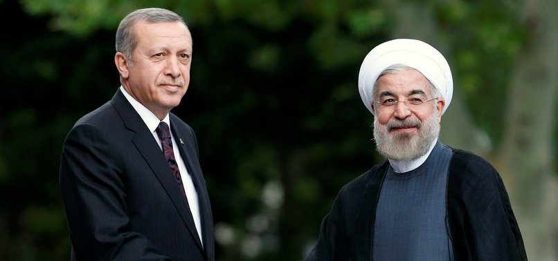 ERDOĞAN, ROUHANI DISCUSS SYRIA CRISIS IN TELEPHONE CONVERSATION