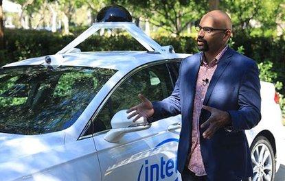 Intel ve BMWnin otonom sürüş test araçları yollara çıktı
