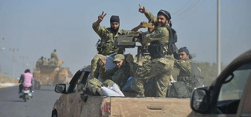 SYRIAN NATIONAL ARMY GUARANTEES CIVILIAN SAFETY
