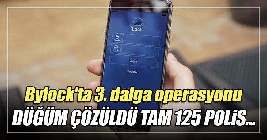 İstanbul'da 3. dalga ByLock operasyonu düzenlendi
