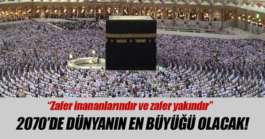 Dünyanın en büyük dini 2070e kadar İslam olabilir