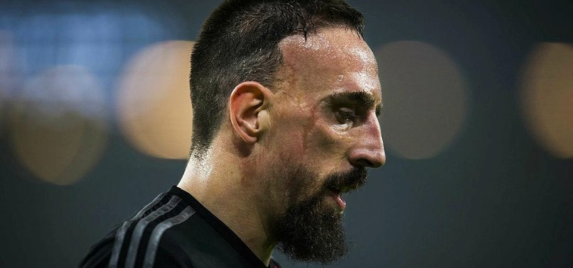 FRENCH VETERAN RIBERY OUT FOR 10 WEEKS AFTER ANKLE SURGERY