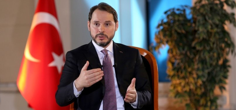 STRONG RECOVERY IN TURKEYS ECONOMY CONTINUES: FINANCE MINISTER ALBAYRAK