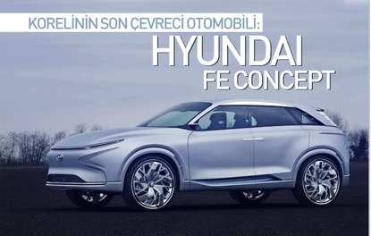 Korelinin son çevreci otomobili: Hyundai FE Concept