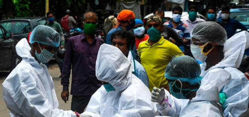 INDIA SEES OVER 50,000 VIRUS CASES FOR 6TH STRAIGHT DAY