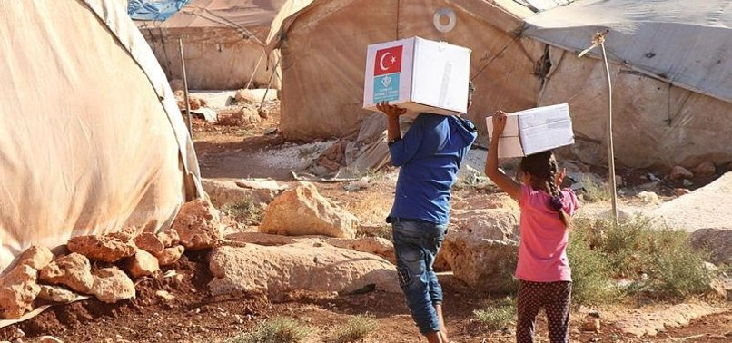 TURKISH GROUP SENT SYRIANS 316 LOADS OF AID IN 2018