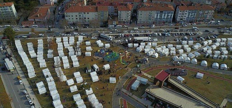 TURKEY TO BUILD SHELTER AREAS IN QUAKE-HIT ELAZIĞ