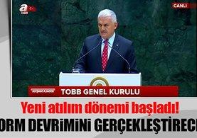 Başbakan Yıldırım: Reform devrimi gerçekleştireceğiz